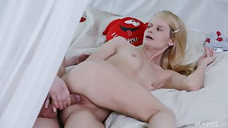 Angie Scott is ready for hard sex with her boyfriend in many poses
