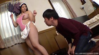 Chubby Asian Ichimaru Hime is very close to reach an strong orgasm