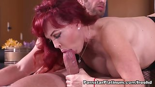 Dispirited Vanessa in Fucked By a Savage Cock