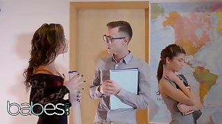 Step Mom Lessons - Gina Gerson Niki Sweet Charlie Dean